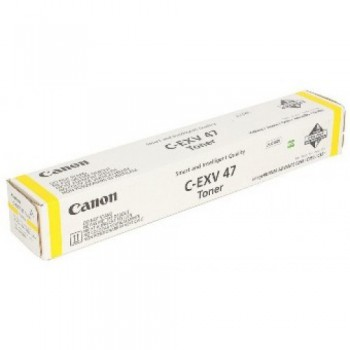 Toner Canon CEXV47 do  iR C250i/250iF/255i/255iF/350i | 21 500 str. | yellow