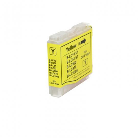 Zamiennik Tusz Brother LC-1000 LC-970 Y| 400 str. | yellow