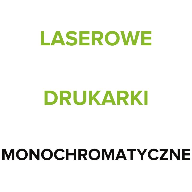 HEWLETT PACKARD LASEROWE DRUKARKI MONOCHROMATYCZNE